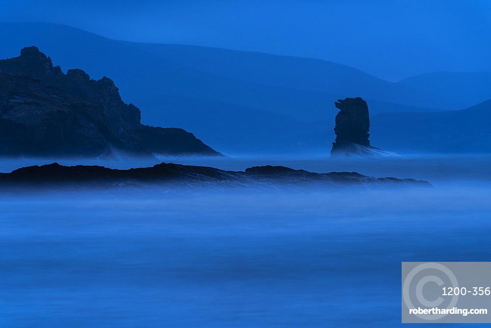 Kinard beach at dawn, Dingle Peninsula, Kerry, Republic of Ireland