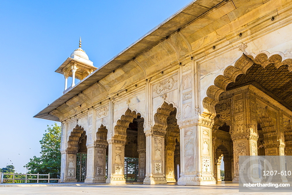 Khas Mahal in the Red Fort, UNESCO World Heritage Site, Old Delhi, India, Asia