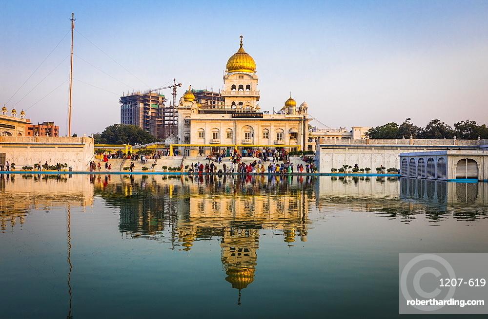 Sri Bangla Sahib Gurdwara (Sikh Temple), New Delhi, India, Asia