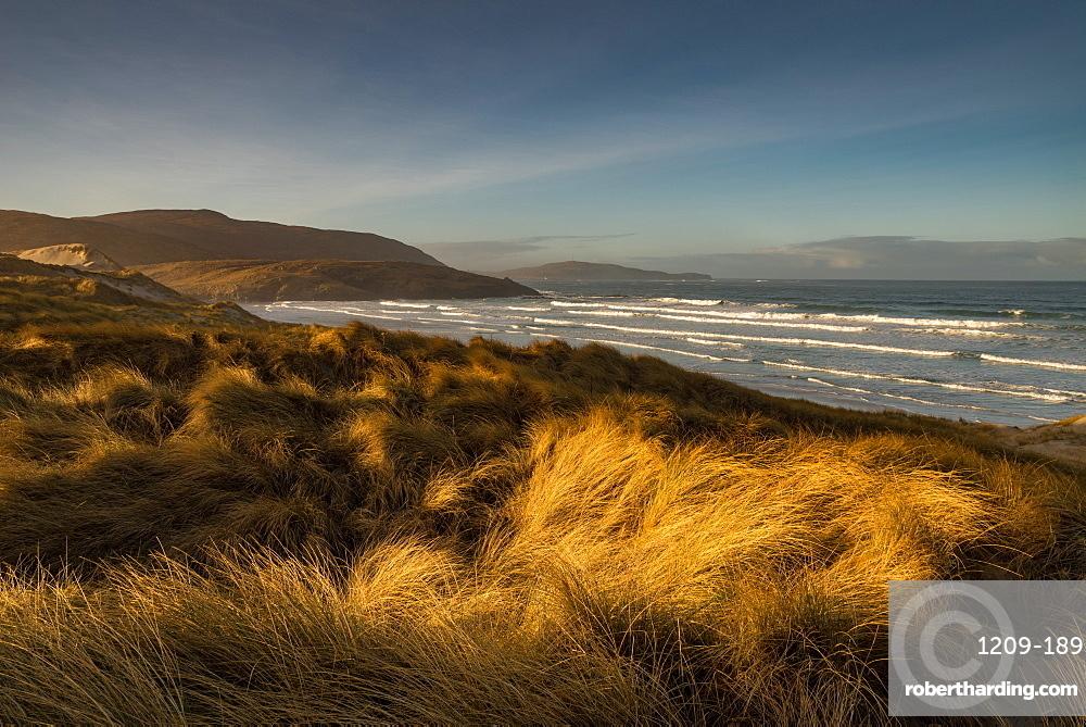Sunrise at Traigh Eais, Barra, Outer Hebrides, Scotland. Looking south.