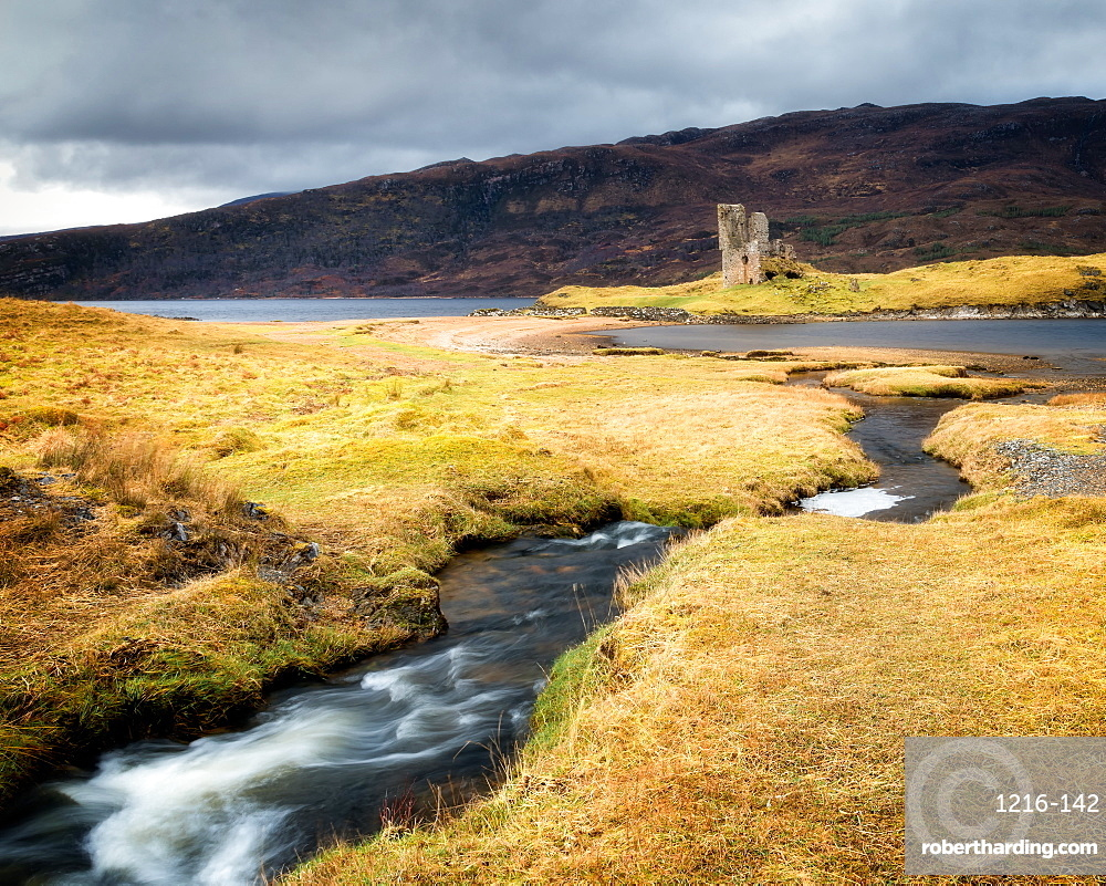 Ardvreck Castle, Sutherland, Highlands, Scotland, United Kingdom, Europe