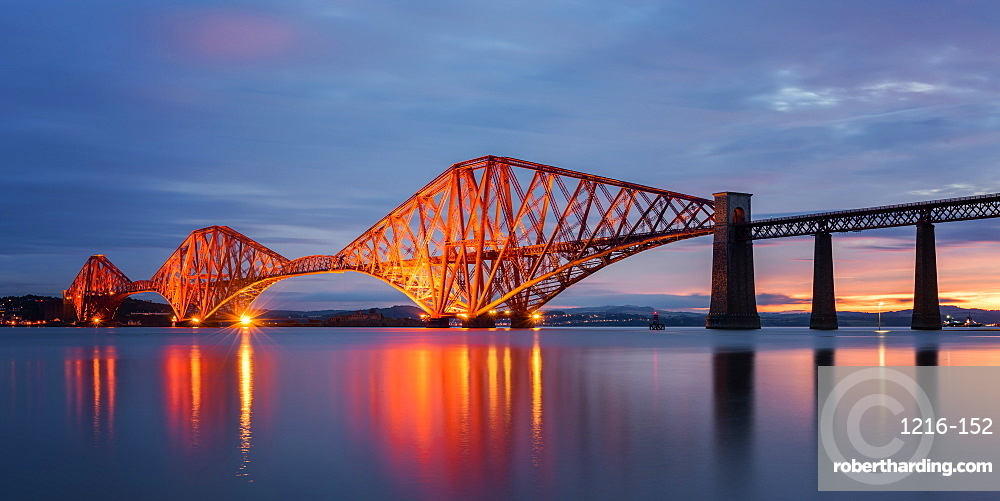Forth Rail Bridge, UNESCO World Heritage Site, Scotland, United Kingdom, Europe