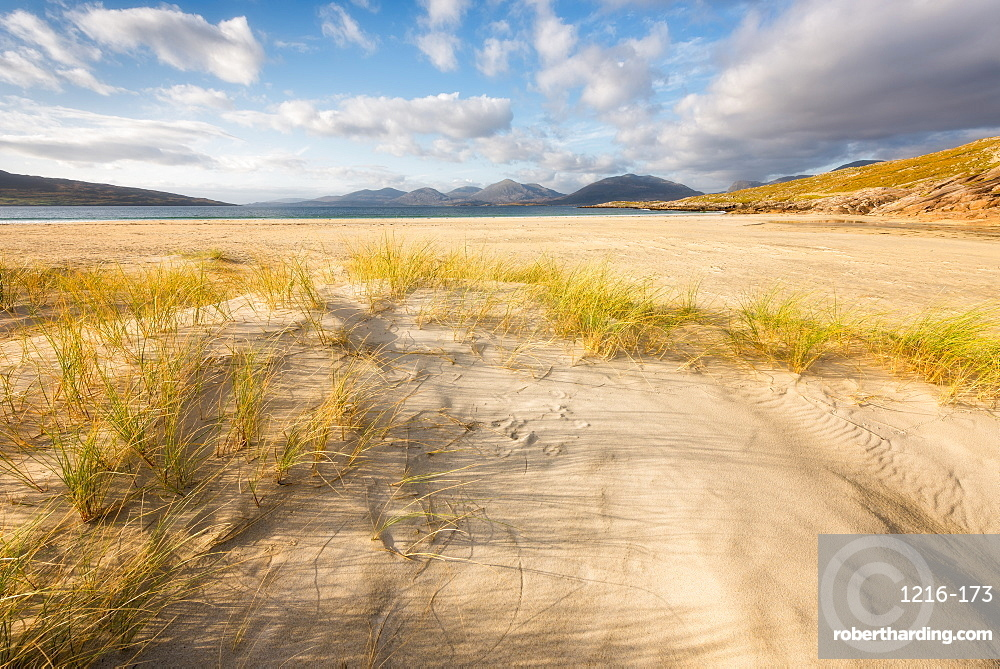 Luskentyre beach, Isle of Harris, Scotland, UK