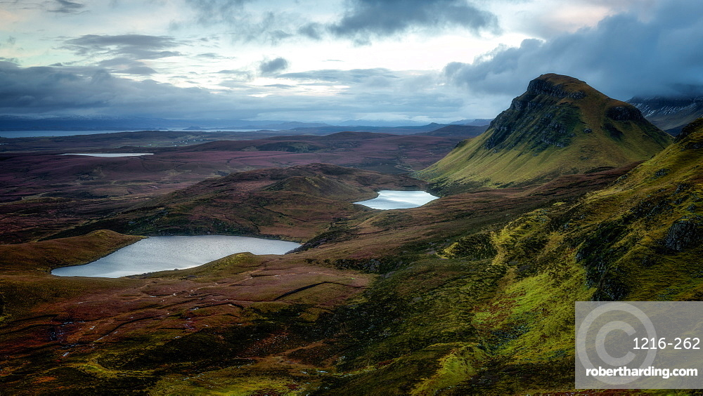 The Quiraing, Isle of Skye, Inner Hebrides, Scotland, United Kingdom, Europe