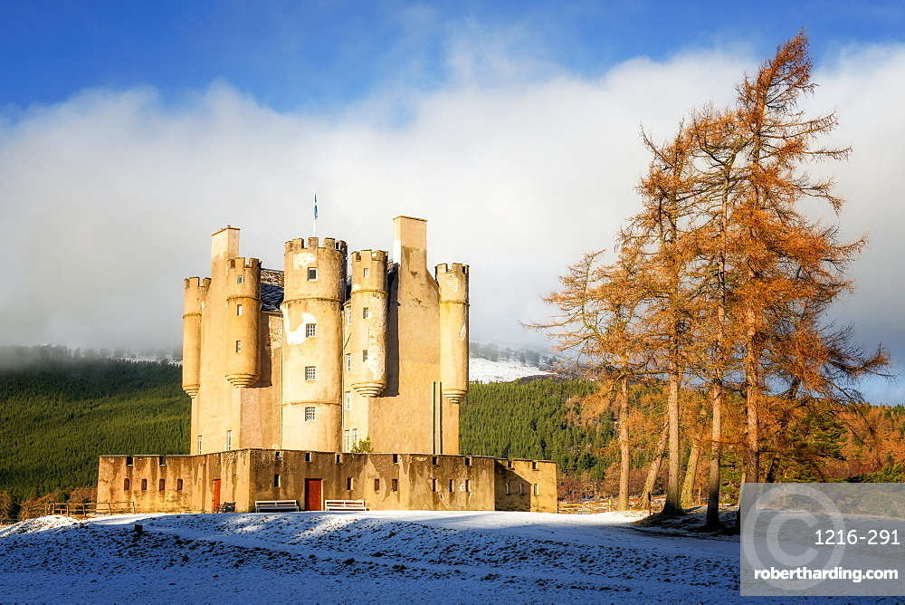 Braemar Castle, Aberdeenshire, Highlands, Scotland, United Kingdom, Europe