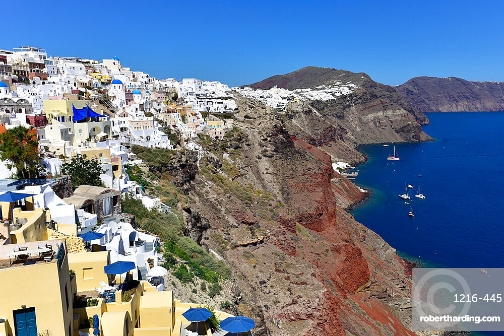 Oia, Santorini, Cyclades, Aegean Islands, Greek Islands, Greece, Europe