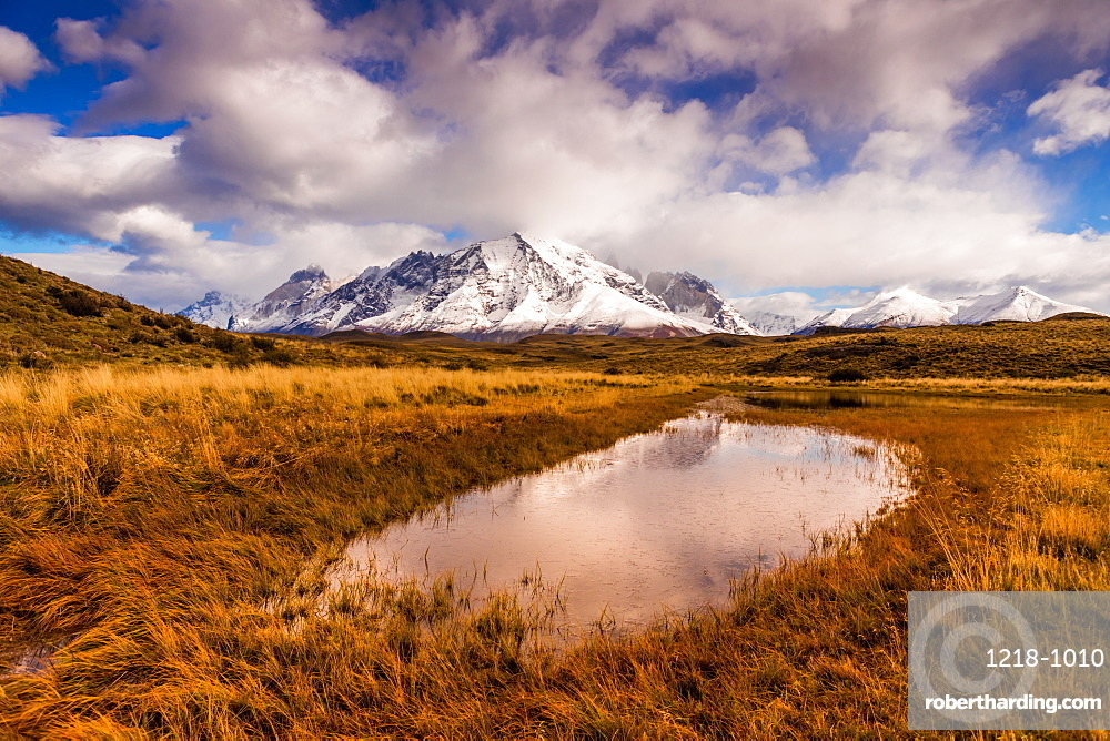 Beautiful Scenic in Torres del Paine National Park, Patagonia, Chile