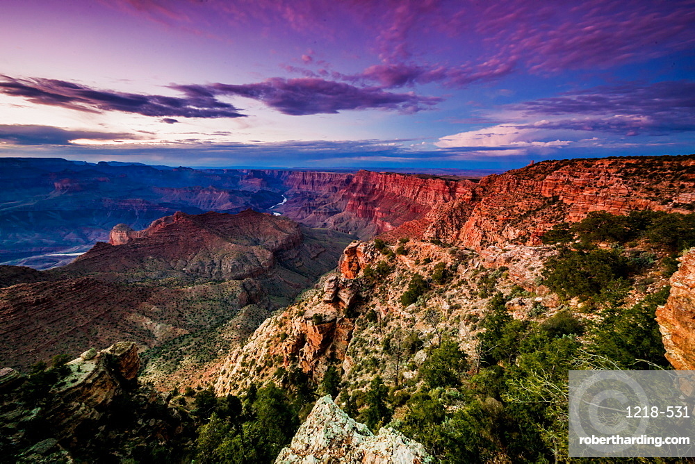 Grand Canyon scenic, UNESCO World Heritage Site, Arizona, United States of America, North America