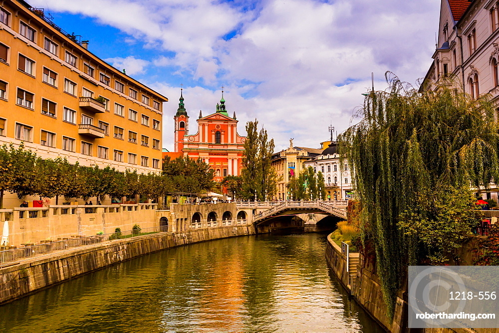 Ljubljana, the capital of Slovenia, Europe