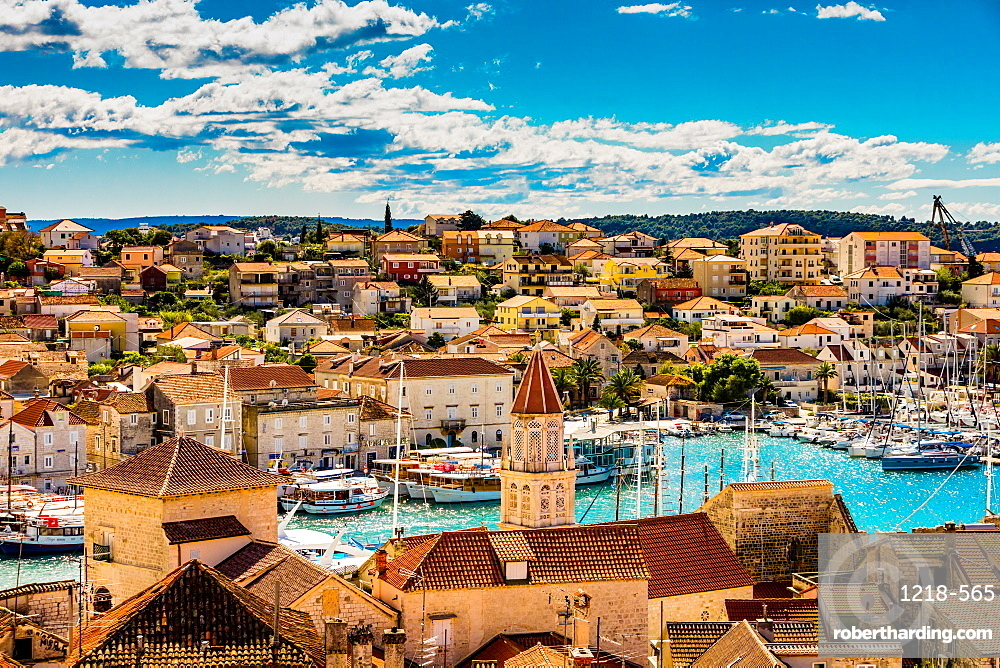 View of Trogir, Croatia, Europe