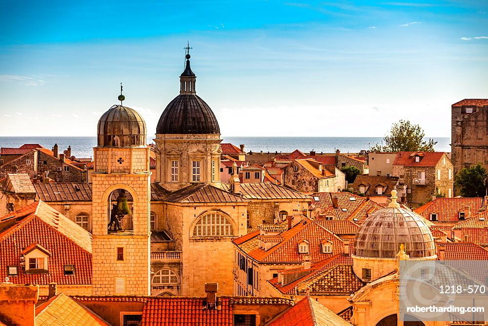 Scenic view of Dubrovnik, Croatia, Europe