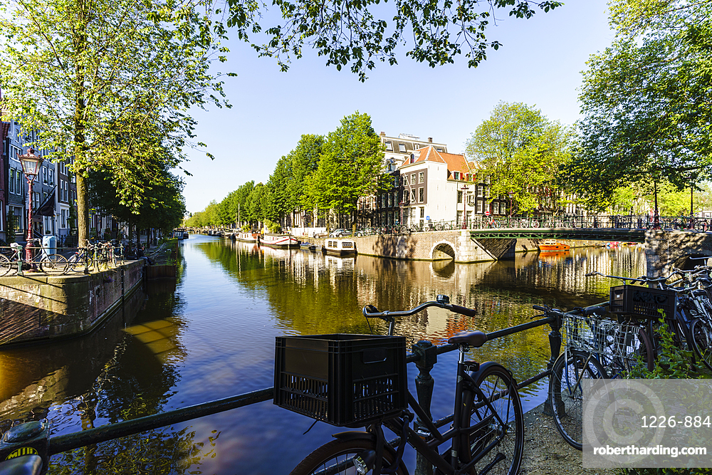 Herengracht Canal, Amsterdam, North Holland, The Netherlands, Europe