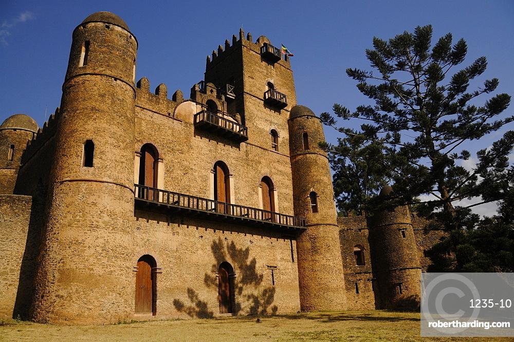Fasilides Castle in Gondar, Ethiopia, Africa