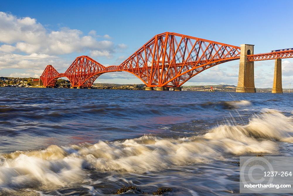Forth Railway Bridge, UNESCO World Heritage Site, Firth of Forth, Scotland, United Kingdom, Europe.