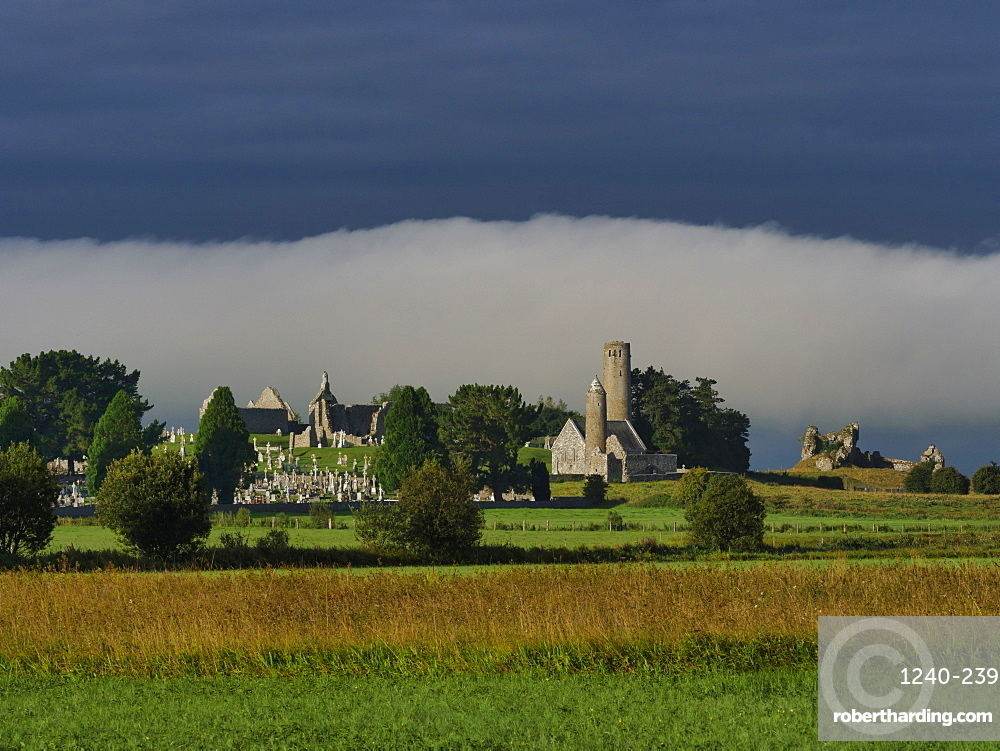 Clonmacnoise, County Offaly, Leinster, Republic of Ireland, Europe