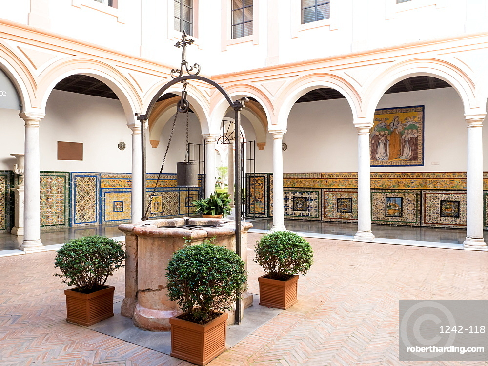 Seville's Museum of Fine Arts housed in the former Convent of Mercy, Seville (Sevilla), Andalucia, Spain, Europe