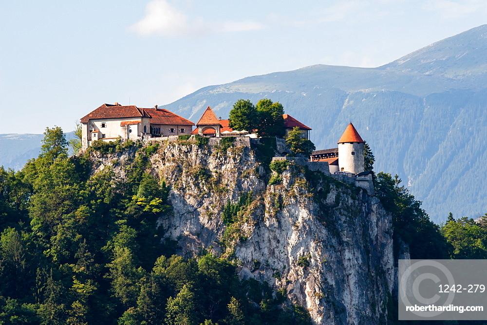 Bled Castle, Lake Bled, Slovenia, Europe