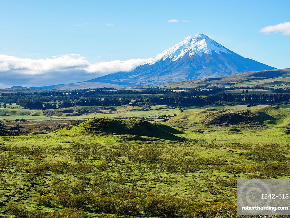 Cotopaxi volcano, Cotopaxi National Park, Andes mountains, Ecuador, South America