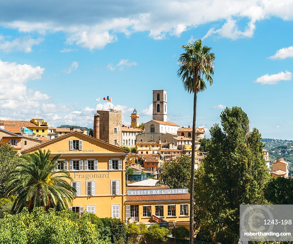 Grasse, Alpes Maritimes, Cote d'Azur, Provence, French Riviera, France, Europe
