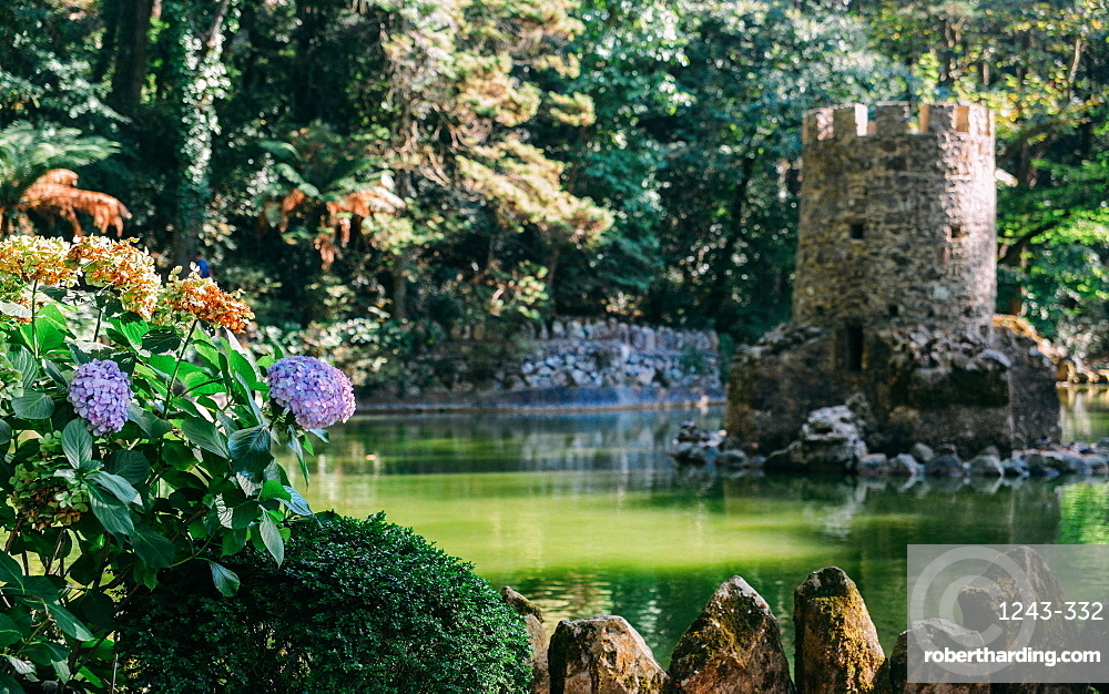 Valley of the Lakes at the Park of Pena, Sintra, UNESCO World Heritage Site, Portugal, Europe