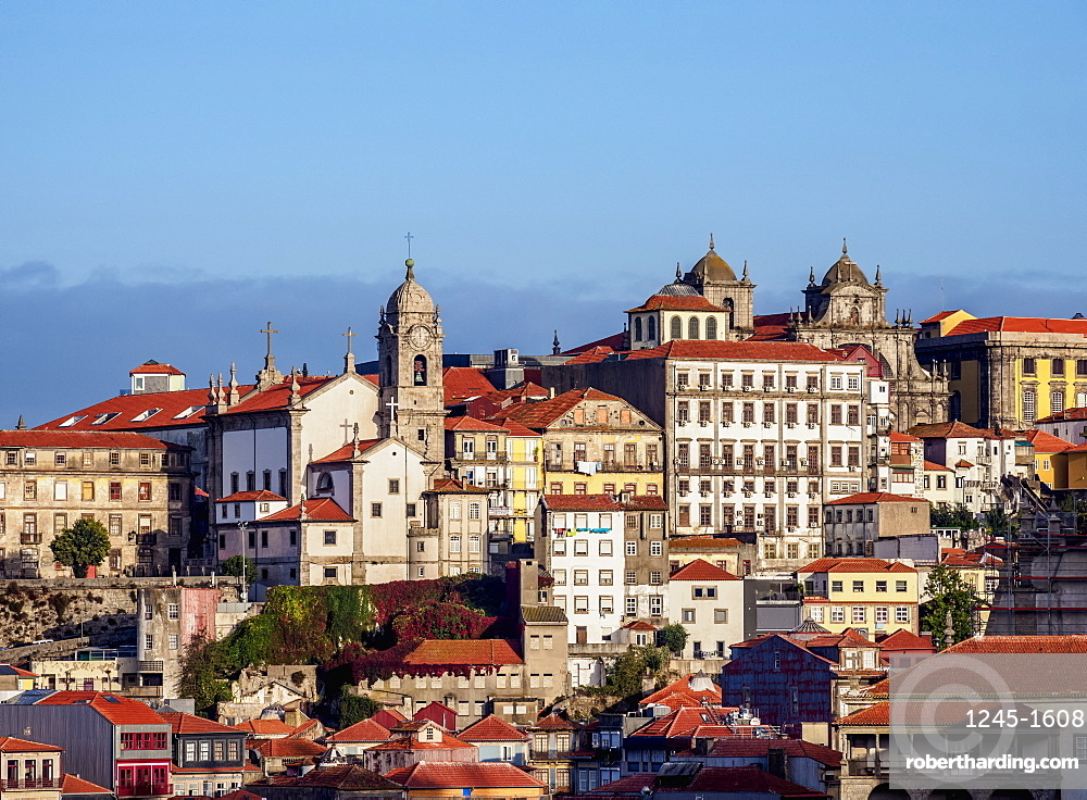 View towards Nossa Senhora da Vitoria Church, Porto, Portugal, Europe