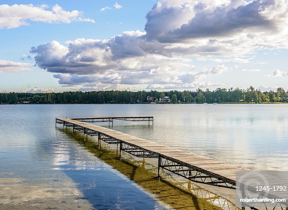 Biale Lake, Okuninka, Lublin Voivodeship, Poland