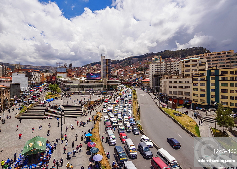 Mariscal Avenue, La Paz, Bolivia, South America