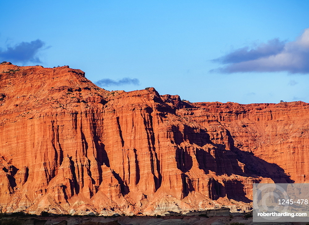 Las Coloradas Cliffs, Ischigualasto Provincial Park, UNESCO World Heritage Site, San Juan Province, Argentina, South America