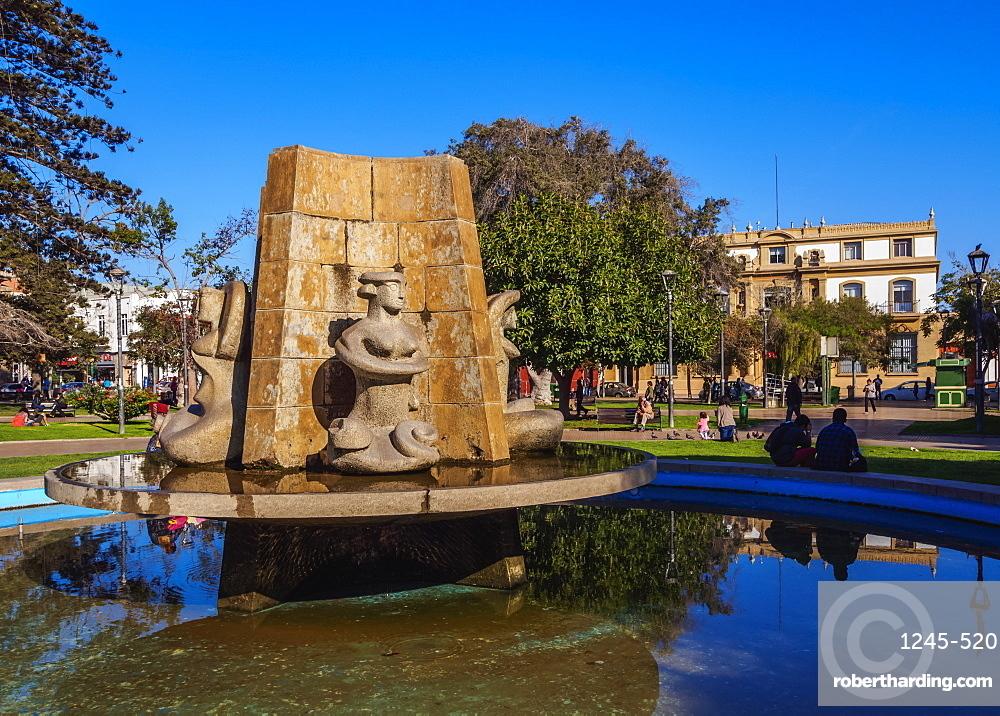 Plaza de Armas, La Serena, Coquimbo Region, Chile, South America