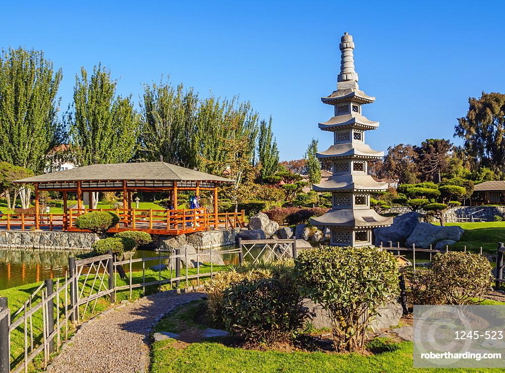 Japanese Garden, La Serena, Coquimbo Region, Chile, South America