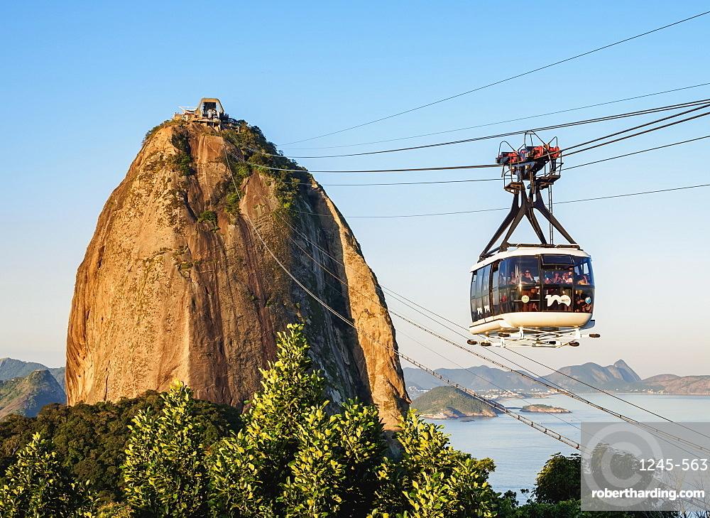 Sugarloaf Mountain Cable Car, Rio de Janeiro, Brazil