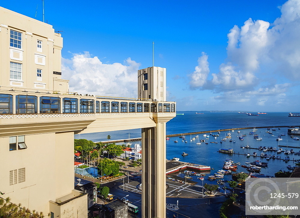 Lacerda Elevator, Salvador, State of Bahia, Brazil, South America