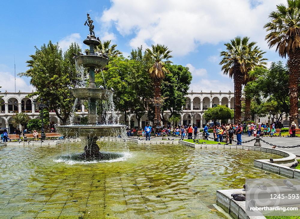 Plaza de Armas, Arequipa, Peru, South America