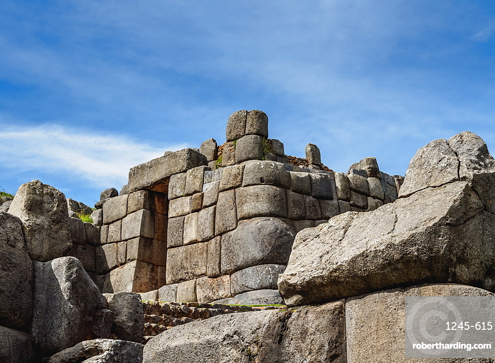 Sacsayhuaman Ruins, Cusco Region, Peru, South America