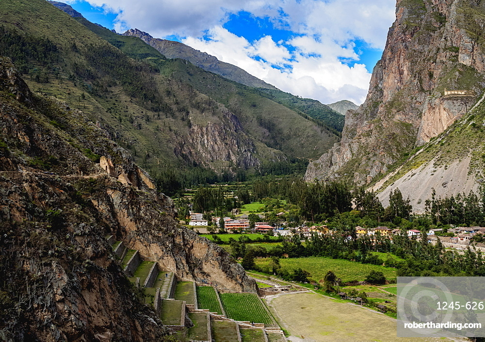 Ollantaytambo Ruins, Sacred Valley, Cusco Region, Peru, South America
