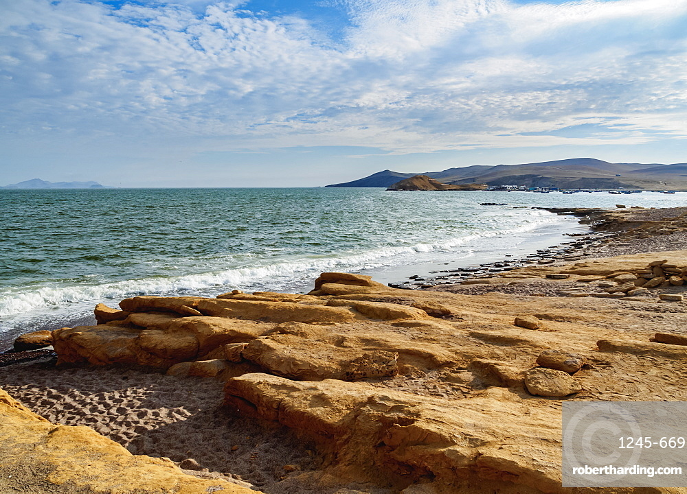 Coast of Paracas National Reserve, Ica Region, Peru, South America