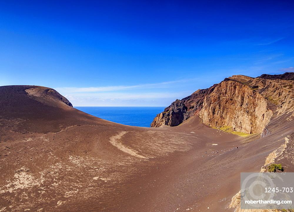 Volcano dos Capelinhos, Ponta dos Capelinhos, Faial Island, Azores, Portugal, Atlantic, Europe