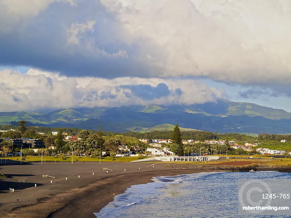 Milicias Beach, Sao Roque, Sao Miguel Island, Azores, Portugal, Atlantic, Europe