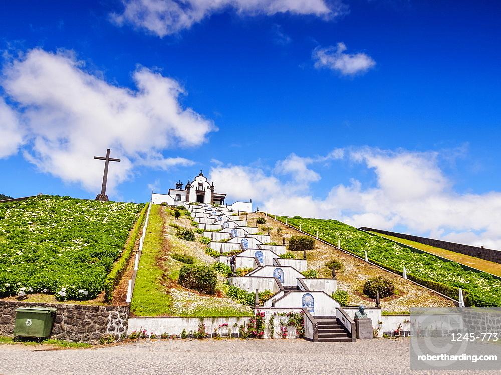 Chapel of Nossa Senhora da Paz, Vila Franca do Campo, Sao Miguel Island, Azores, Portugal, Atlantic, Europe