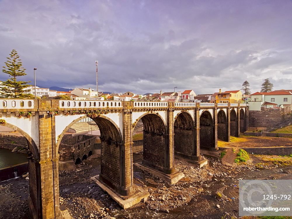 Old Bridge in Ribeira Grande, Sao Miguel Island, Azores, Portugal, Atlantic, Europe