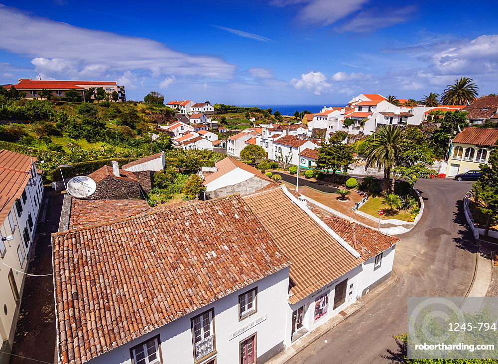 Nordeste, elevated view, Sao Miguel Island, Azores, Portugal