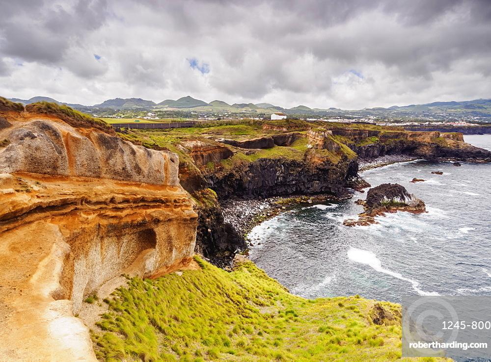 Coast of Ponta das Calhetas, Sao Miguel Island, Azores, Portugal, Atlantic, Europe