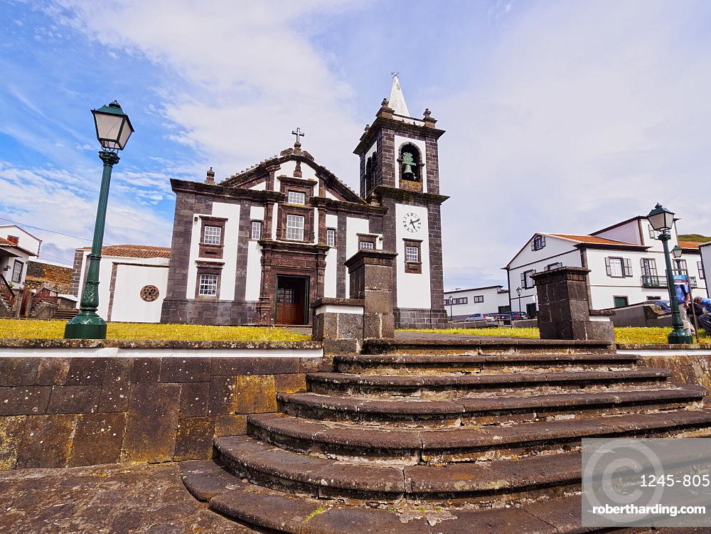Main Church, Santa Cruz, Graciosa Island, Azores, Portugal, Atlantic, Europe