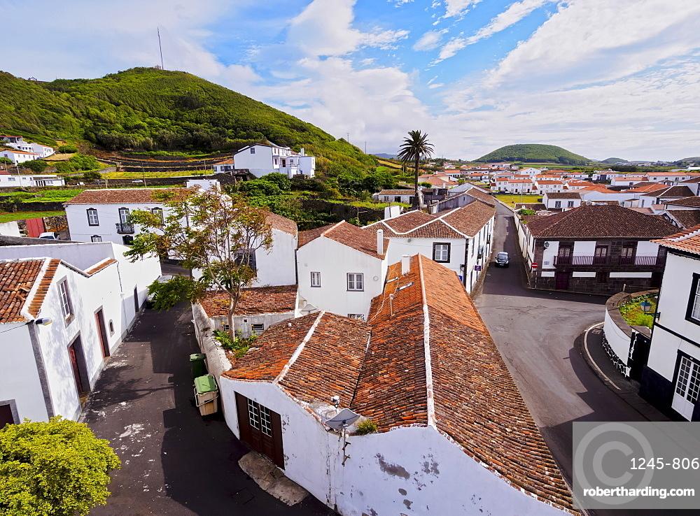 Santa Cruz, elevated view, Graciosa Island, Azores, Portugal, Atlantic, Europe