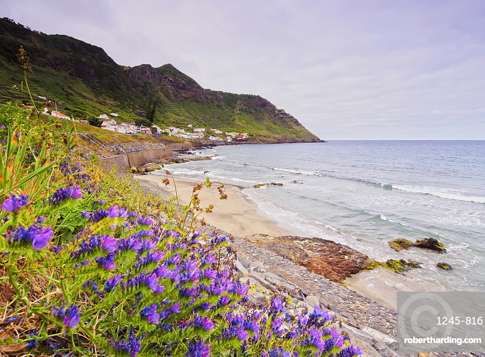 Beach in Sao Lourenco, Santa Maria Island, Azores, Portugal, Atlantic, Europe