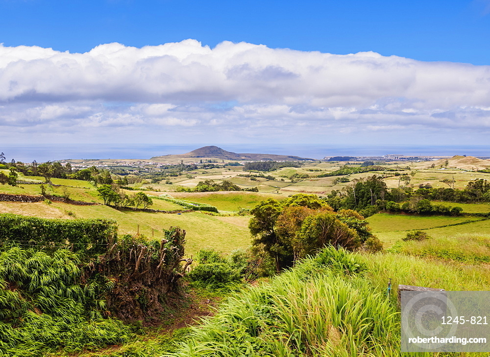 Landscape of the north, Santa Maria Island, Azores, Portugal, Atlantic, Europe
