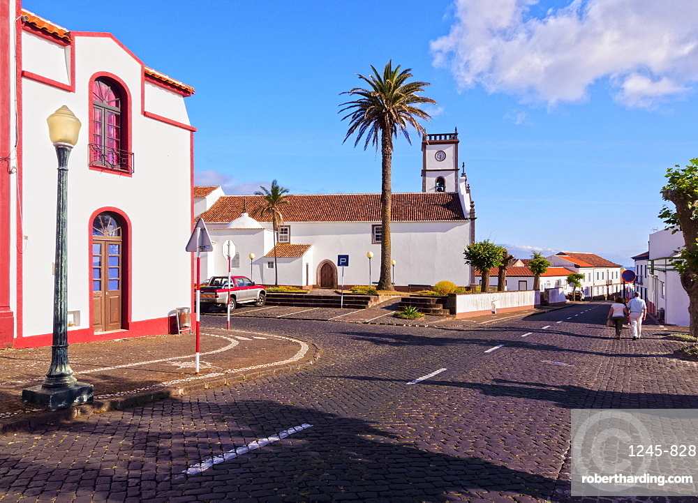 Main Church, Vila do Porto, Santa Maria Island, Azores, Portugal, Atlantic, Europe
