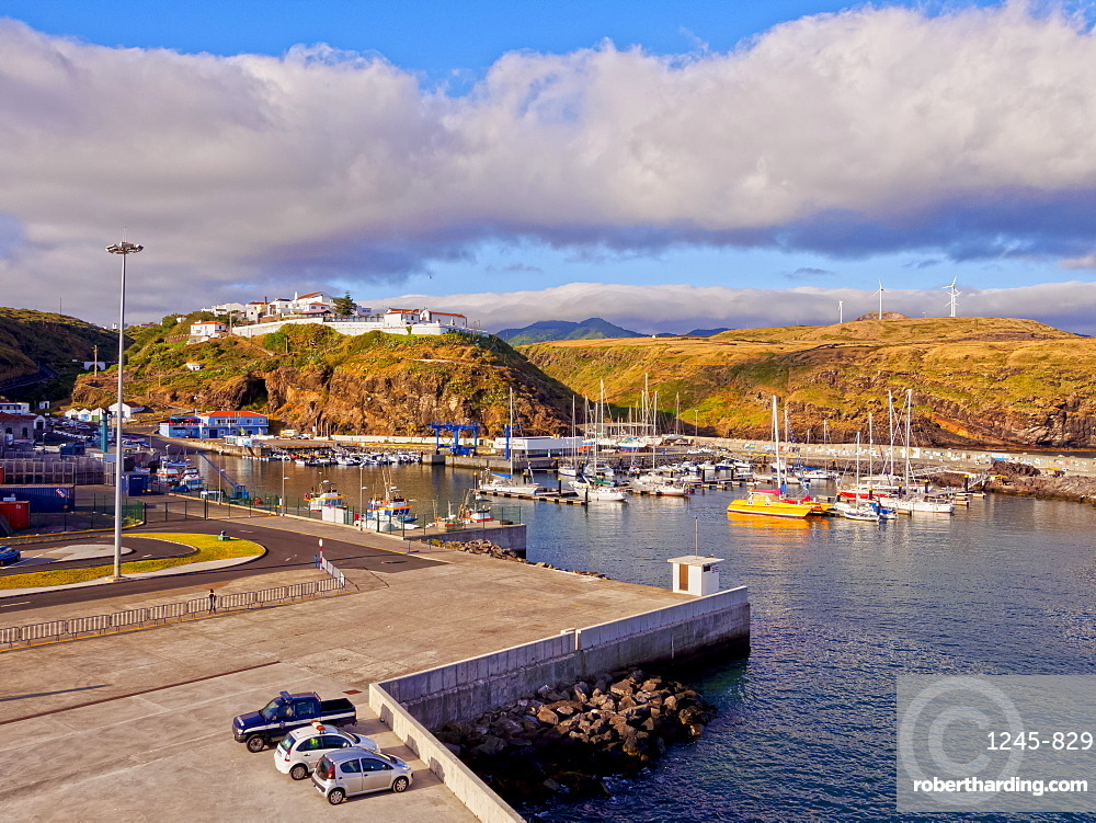 Port in Vila do Porto, Santa Maria Island, Azores, Portugal, Atlantic, Europe