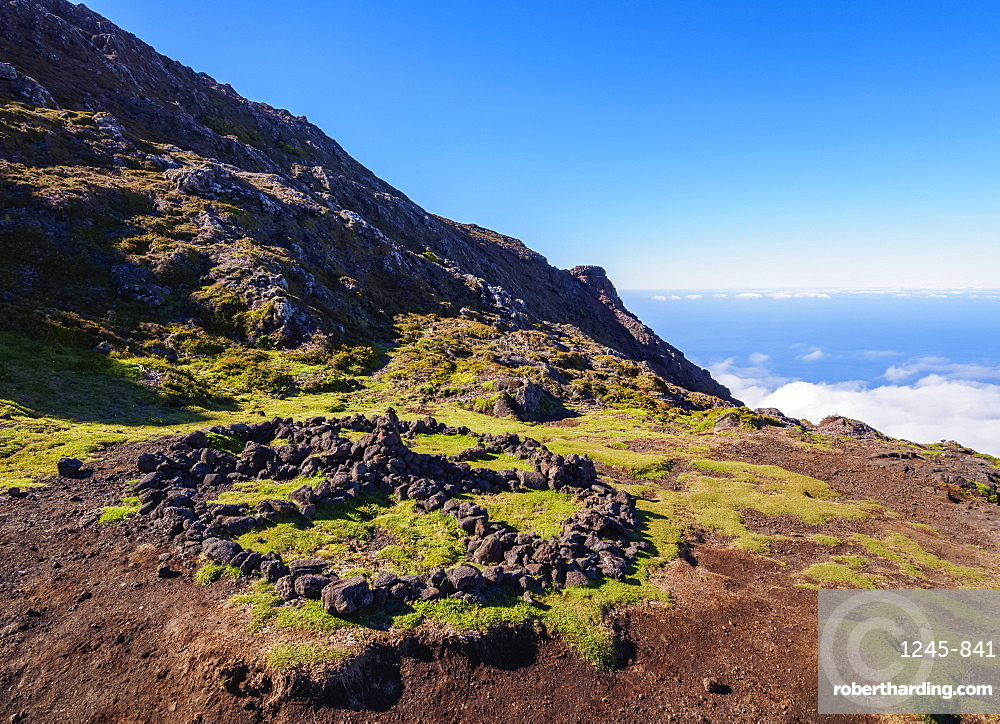 Mount Pico Slope, Pico Island, Azores, Portugal, Atlantic, Europe