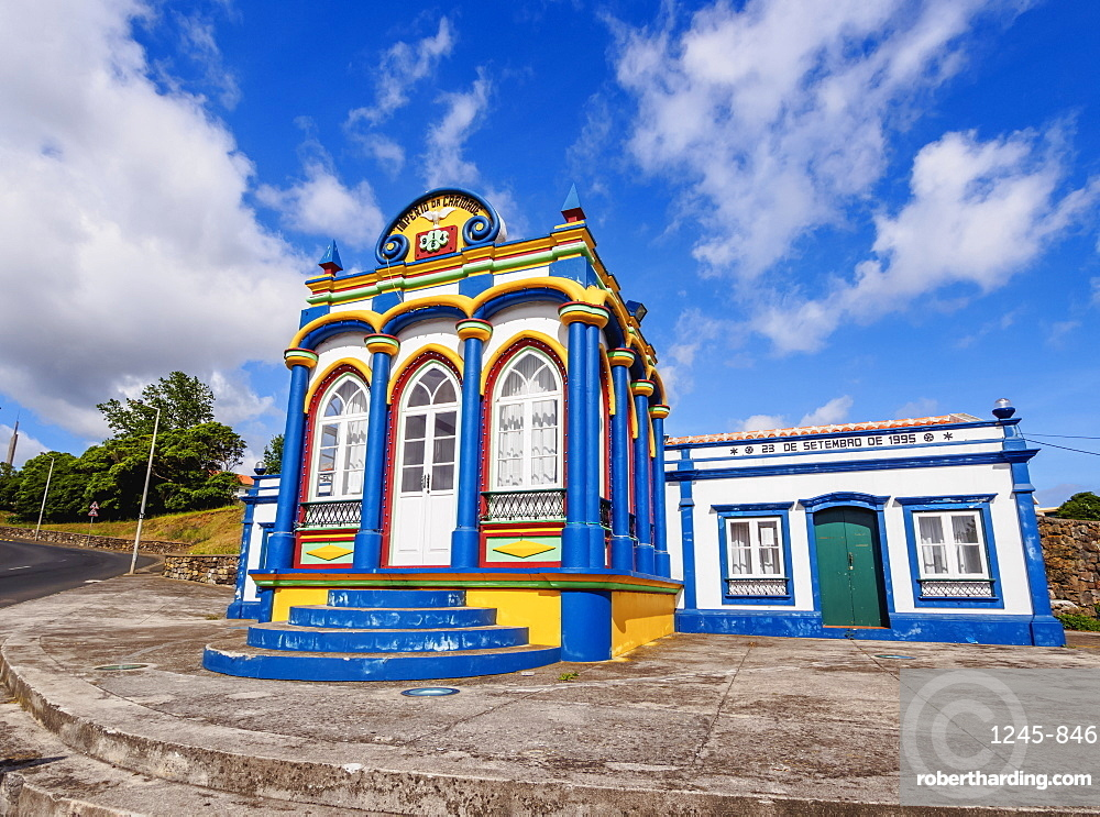 Imperio da Caridade (Empire of Holy Spirit), Praia da Vitoria, Terceira Island, Azores, Portugal, Atlantic, Europe